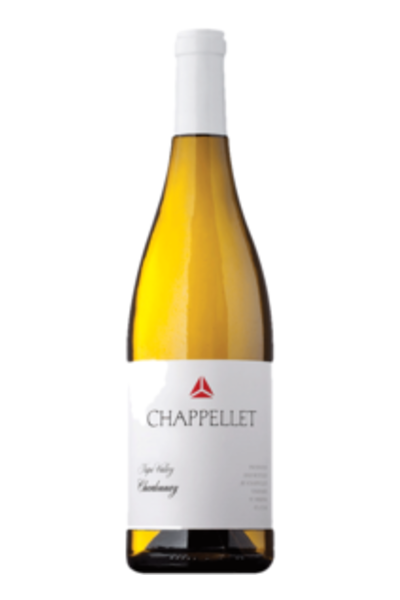 Chappellet Napa Valley Chardonnay - White Wine From California - 750ml Bottle